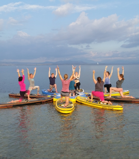 CORSO SUP & YOGA RETREAT
